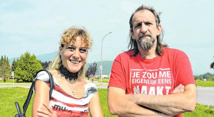 Mirna i Žan Janeš članovi zagrebačkog benda The Cadillac