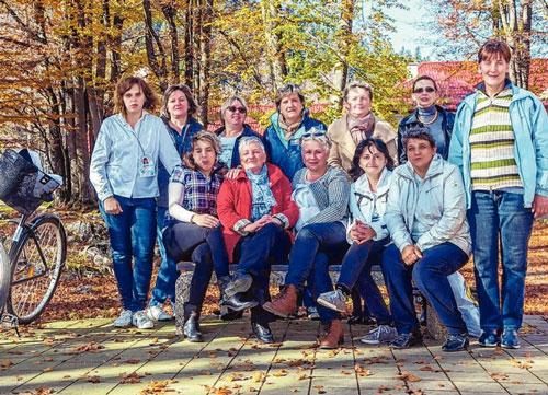 Osam Delničanki kraju privelo višemjesečni program obrazovanja
