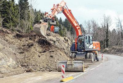 Blaga zima produžila građevinsku sezonu u Gorskom kotaru