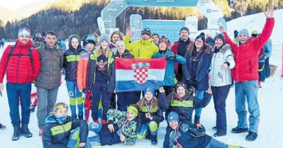 Tri odličja za mlade delničke skijaše trkače na Planici