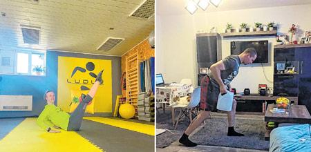 Vježbajte online, šećite oko stola, igrajte i tenis s wc-papirom ako treba