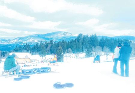 U Gorskom kotaru se sanjka kao nekada