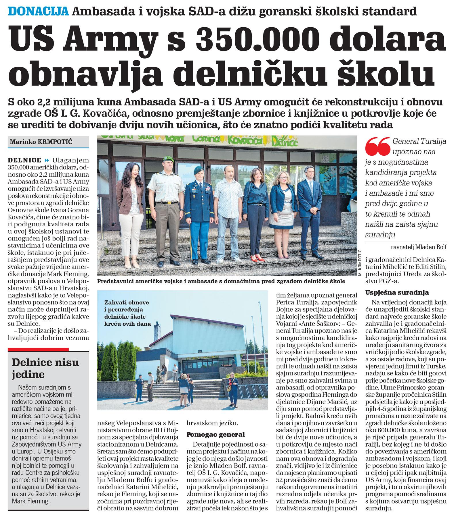 članak, novi list, osnovna škola
