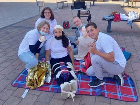 Mladež crvenog križa obilježila Svjetski dan prve pomoći