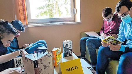 Srednjoškolci proučavali kultni strip